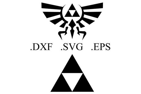 570x380 Legend Of Zelda Vector Cut File Dxf Svg Eps Etsy