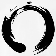 190x190 Zen Enso White By Magnaen Spreadshirt