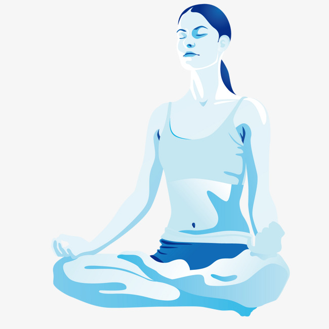 650x651 Zen Meditation Girl, Girl Vector, Zen Meditation, Yoga Png And