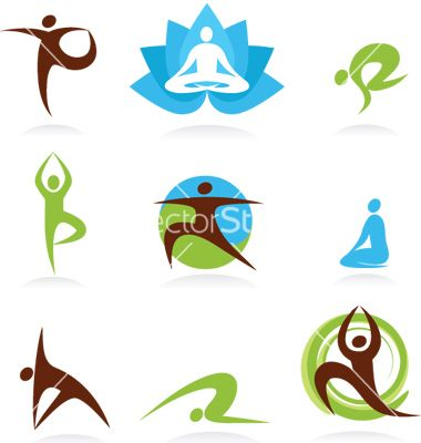 380x400 Zen And Yoga Logos Vector 119445
