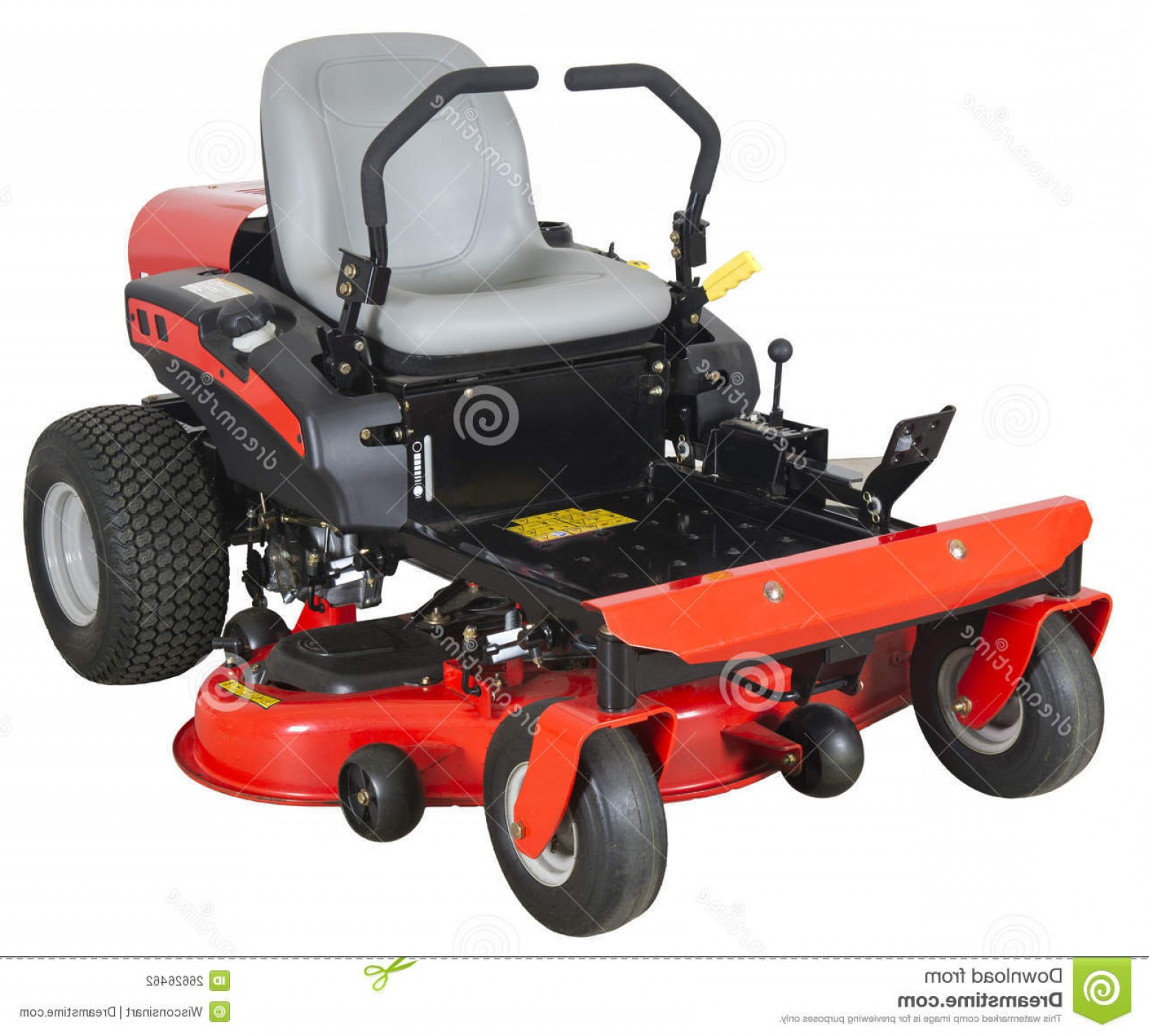 1560x1406 Stock Photography Zero Turn Riding Lawn Mower Isolated White Image