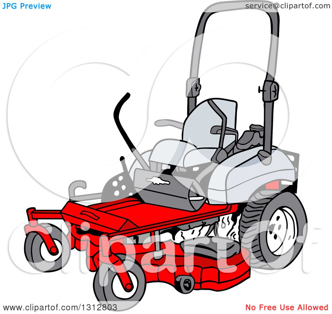 1080x1024 Collection Of Zero Turn Lawn Mower Clipart High Quality