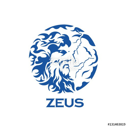 500x500 Greek God Zeus Illustration Stock Image And Royalty Free Vector