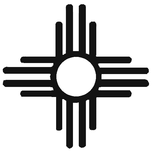 499x500 The Sun Sign, With Rays Pointing In The Four Directions, Is A