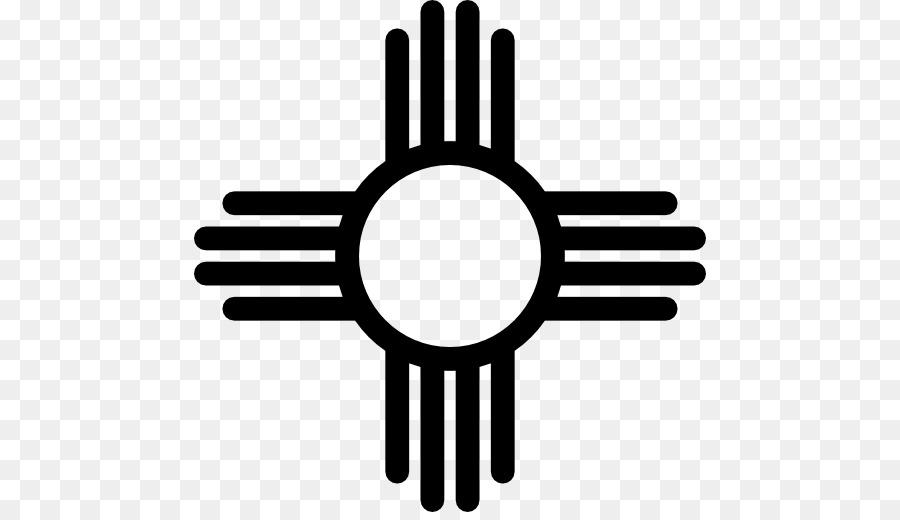 900x520 Zia Pueblo Zia People Flag Of New Mexico Symbol