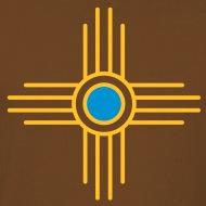 190x190 Zia Sun, Vectorgraphic, Sun Symbol, Zia Pueblo, New Mexico, Sacred