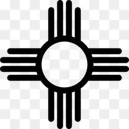260x260 Free Download Zia Pueblo Zia People Flag Of New Mexico Symbol