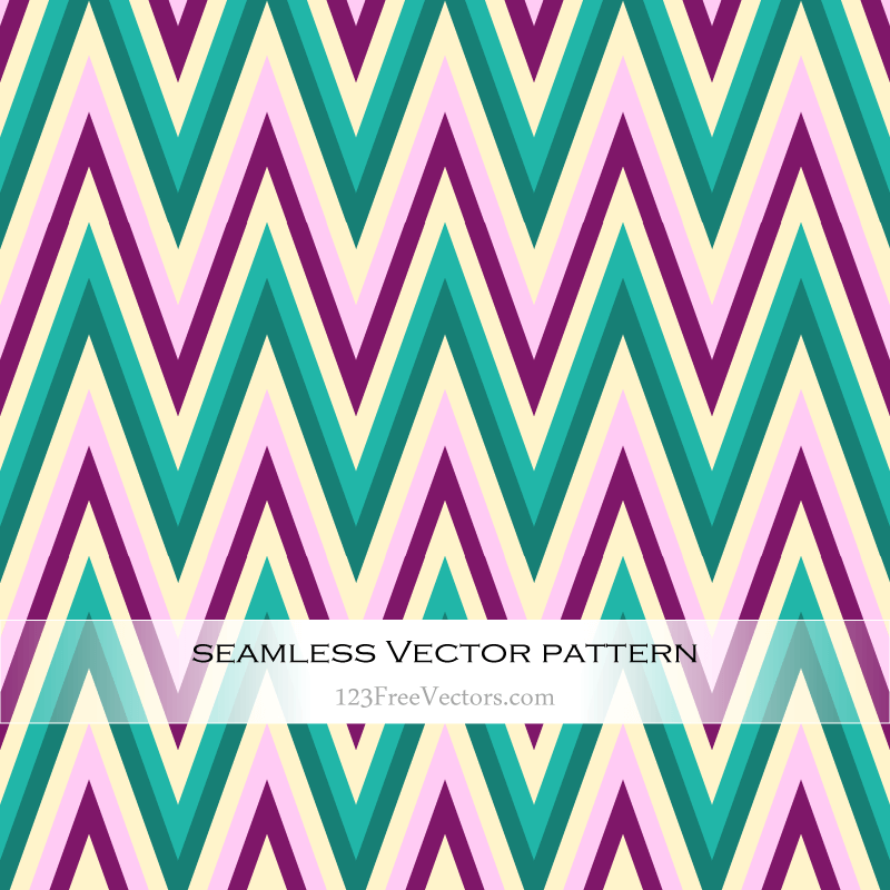 800x800 Seamless Zigzag Pattern Vector Background 123freevectors