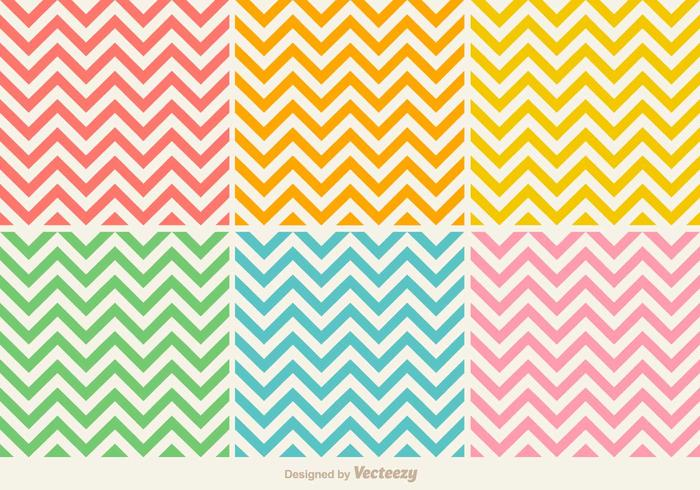 700x490 Vector Colorful Seamless Zig Zag Pattern