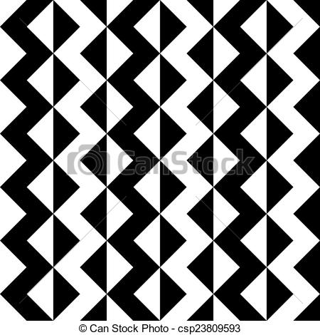 450x470 Vector Abstract Seamless Zigzag Pattern.