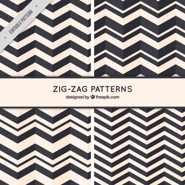 626x626 Zig Zag Patterns Vector Free Download
