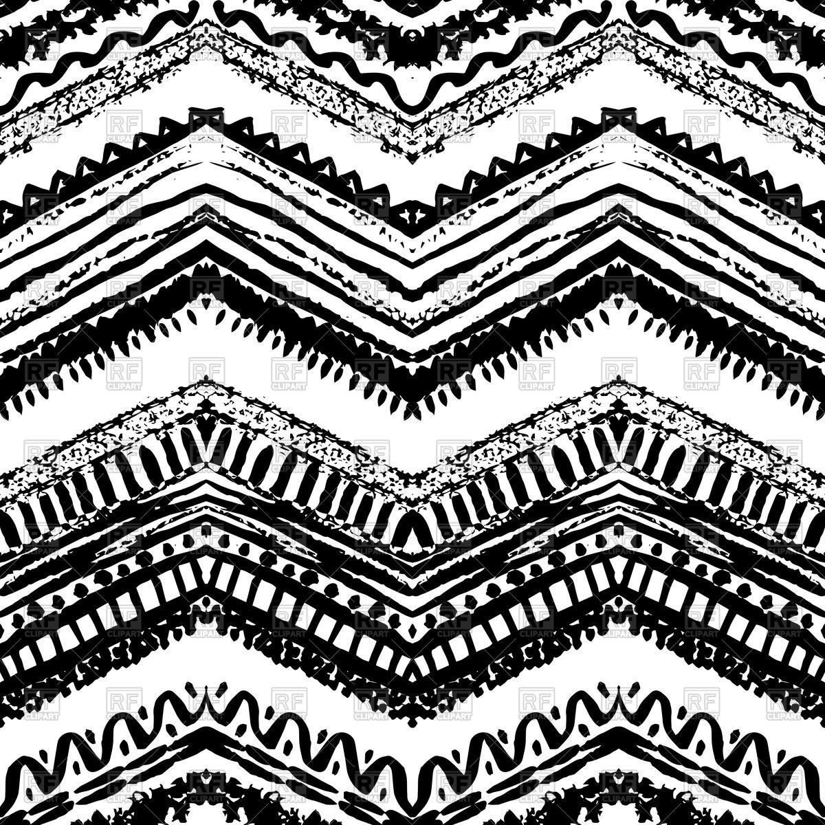 1200x1200 Ethnic Seamless Zigzag Pattern