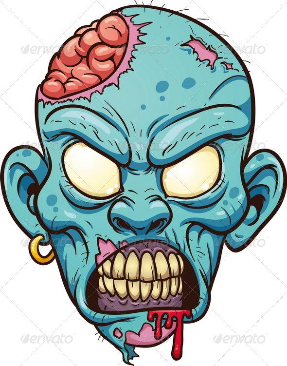 590x751 Apocalypse Clipart Zombie Face