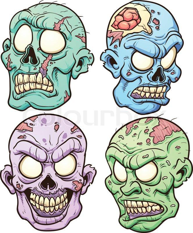 664x800 Zombie Clipart Zombie Face
