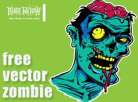 270x200 Free Zombie Vector Graphics