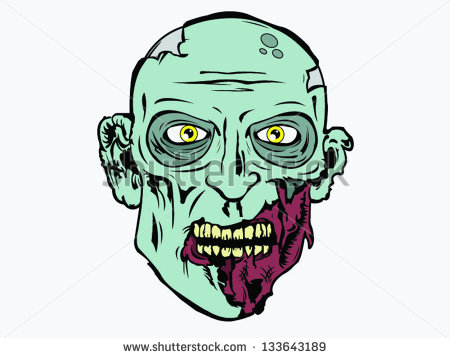 450x358 Collection Of Zombie Head Clipart High Quality, Free