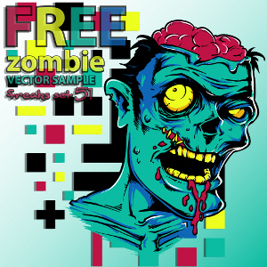 300x300 Free Download Of Zombie Vector Graphics And Illustrations