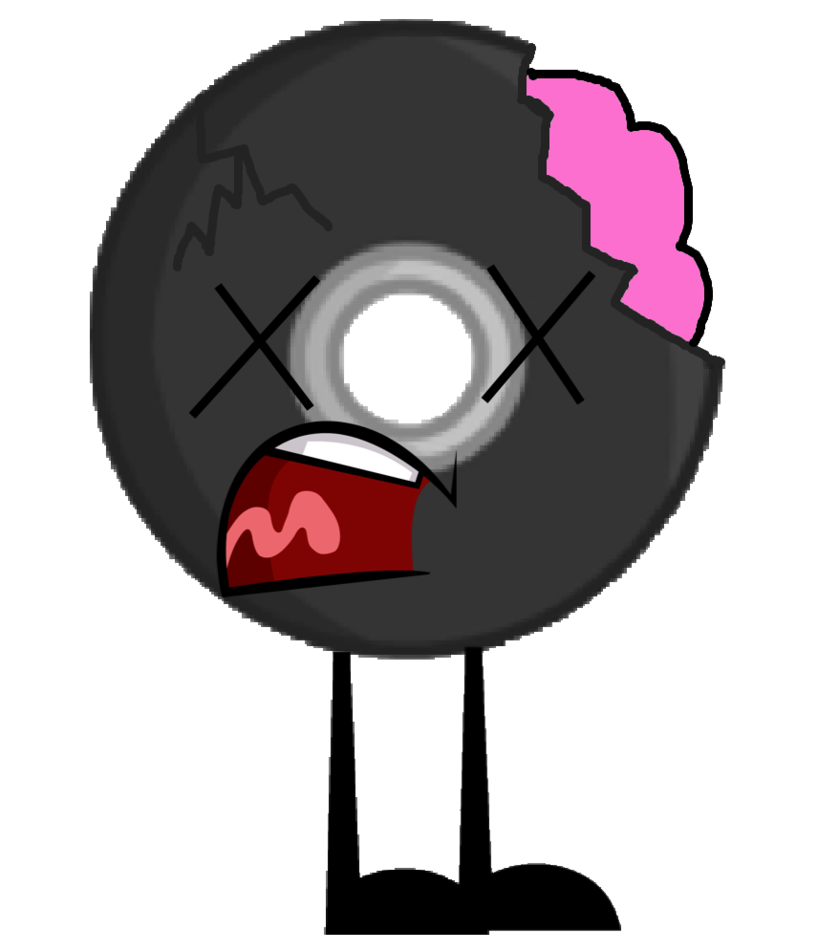 839x952 Disc As A Zombie Vector By Kindraewing