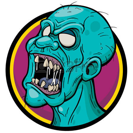 450x450 Collection Of Zombie Face Clipart High Quality, Free