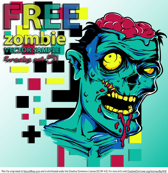 580x600 Free Vector Zombie Free Vector In Encapsulated Postscript Eps