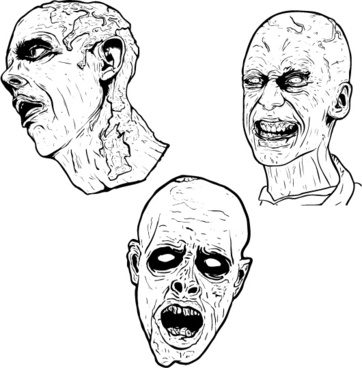 362x368 Zombies Vector Free Vector Download (59 Free Vector) For