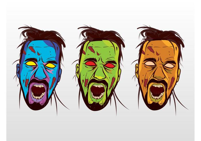 700x490 Colorful Vector Zombies