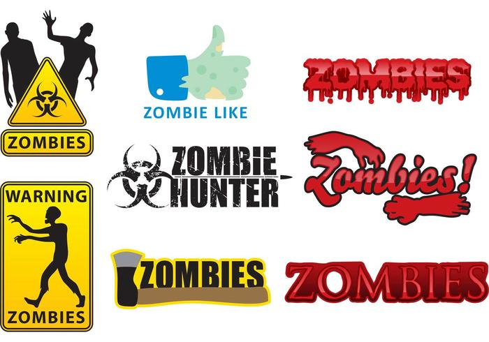 700x490 Vector Zombie Logos