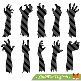 260x260 Download Silhouette Zombie Vector Clipart Royalty Free Clip Art