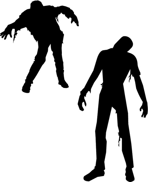 488x600 Free Vector Zombies Free Vector In Adobe Illustrator Ai ( .ai