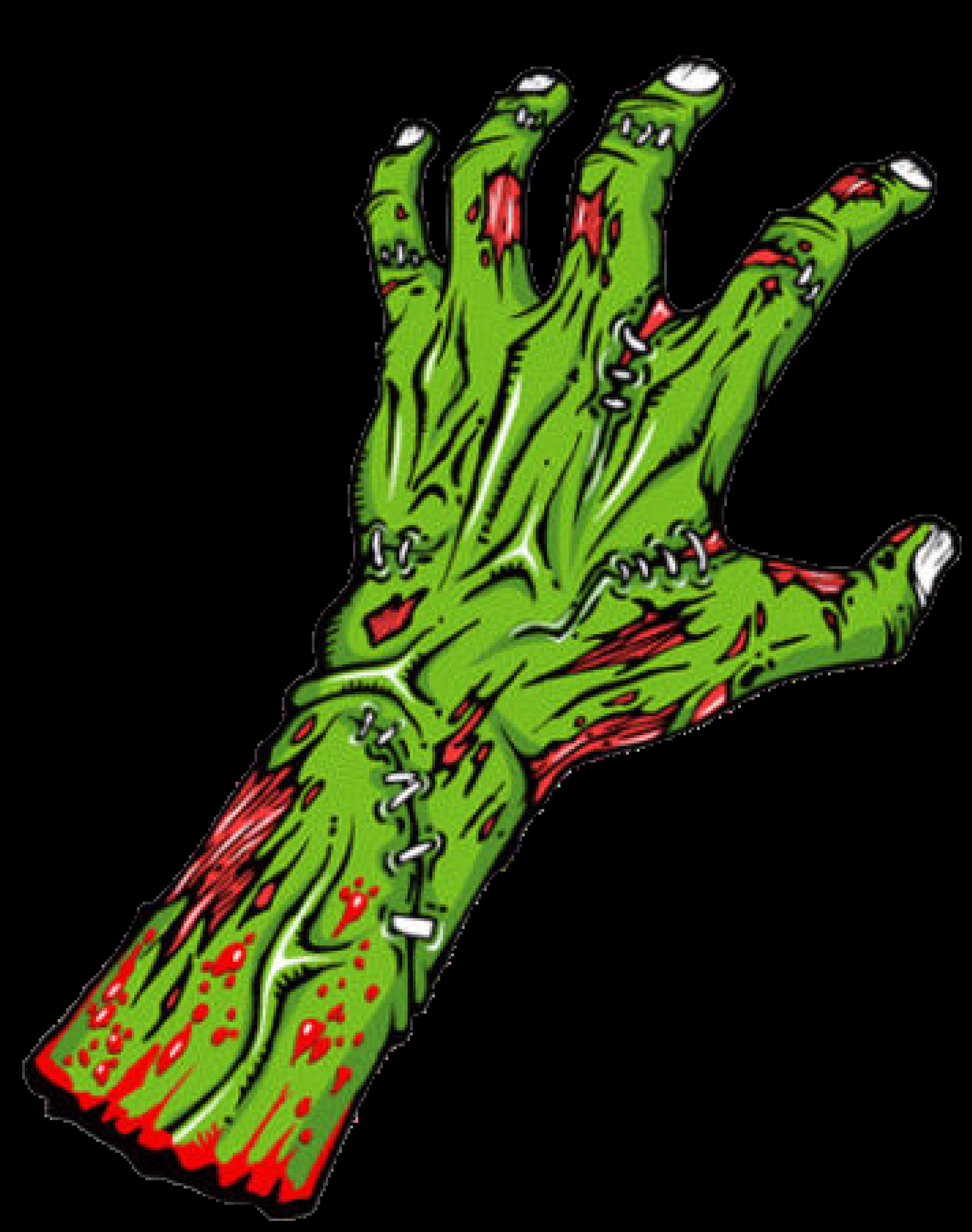 2456x3114 15 Handprint Drawing Zombie For Free Download On Mbtskoudsalg