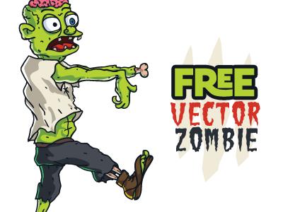 400x300 Free Vector Zombie By Pixaroma