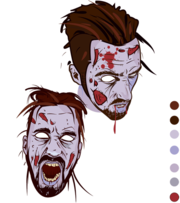 180x203 Free Zombie Clipart And Vector Graphics