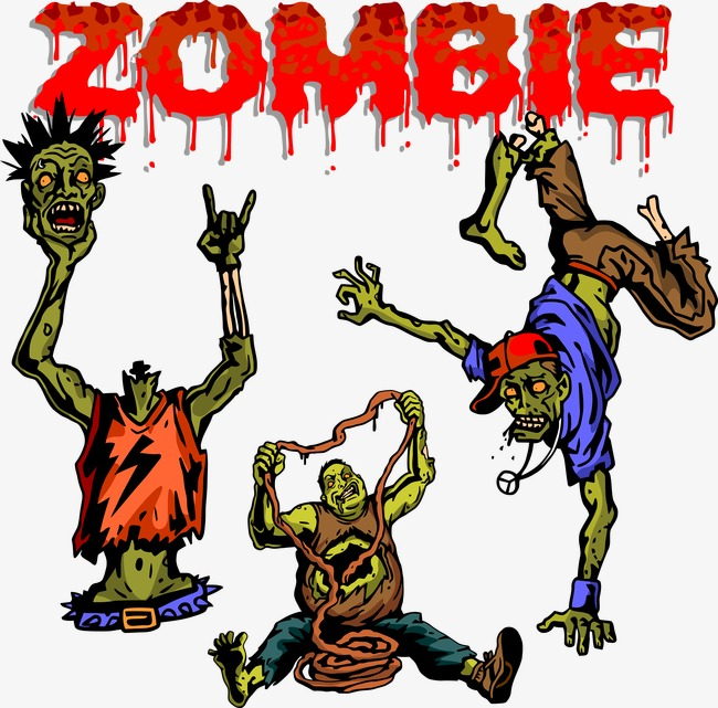 650x641 Vector Zombie, Zombie, Vector, Terror Png And Vector For Free Download