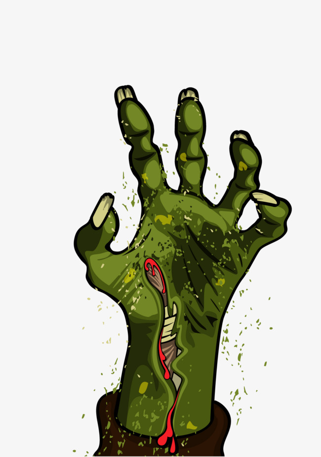 650x924 Vector Zombie, Zombie Vector, Hand, Monster Png And Vector For