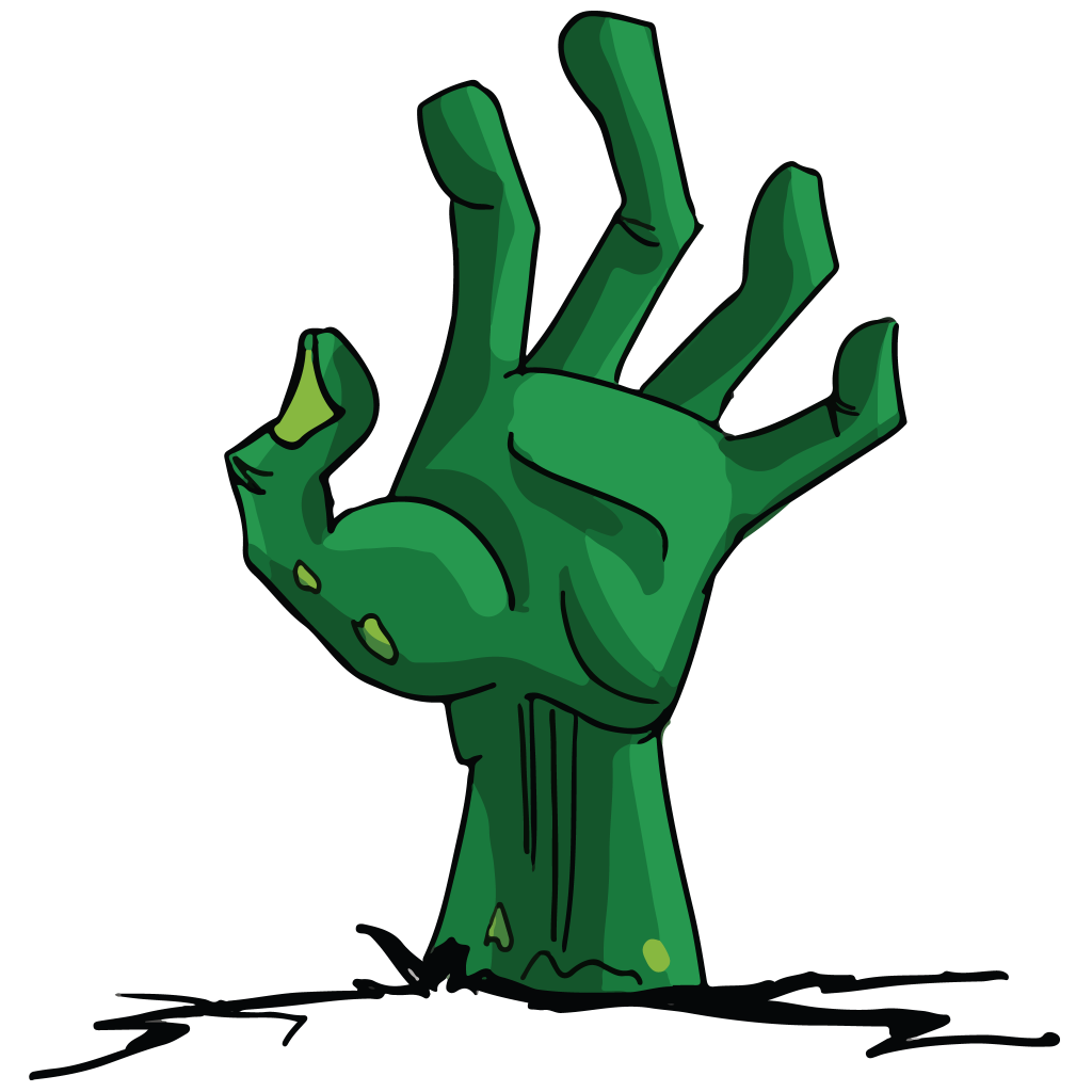 1024x1024 Zombie Hand Png High Quality Image