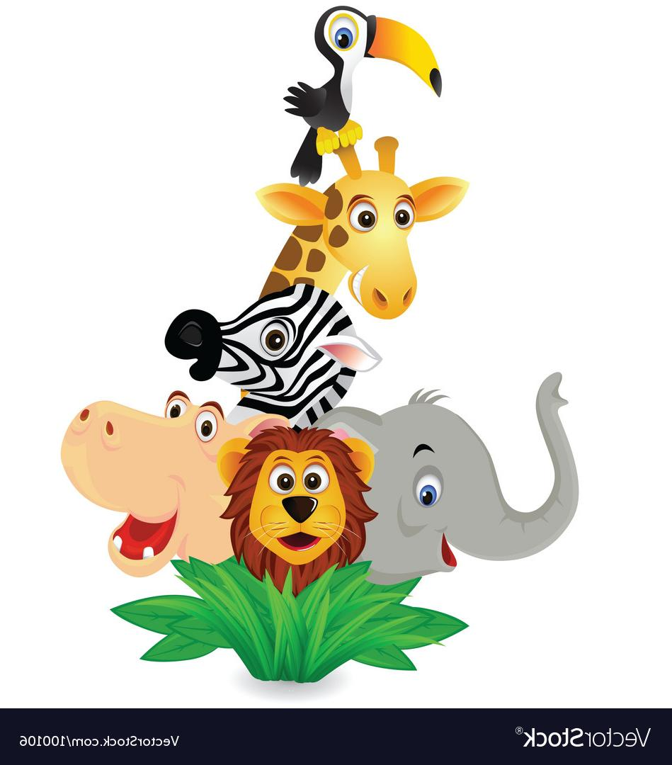 949x1080 Top 10 Zoo Animals Vector Library