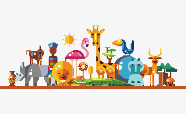 650x400 Zoo Vector, Hand, Zoo, Giraffe Png And Vector For Free Download