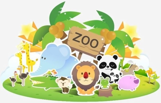 532x342 Zoo Vector Free Vector In Adobe Illustrator Ai ( .ai ) Vector