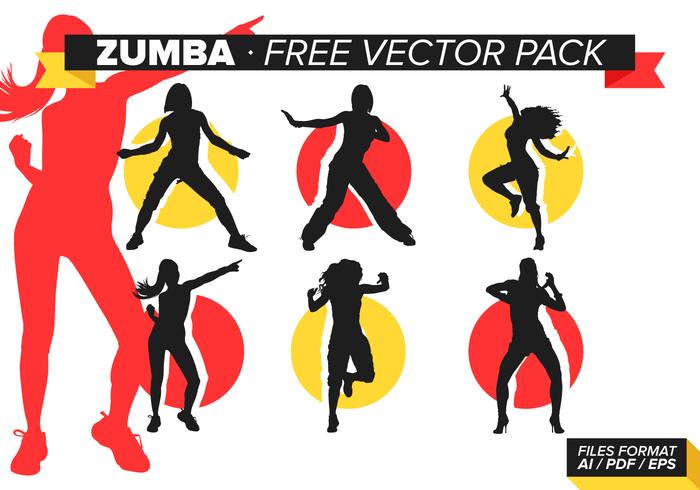 700x490 Zumba Free Vector Pack