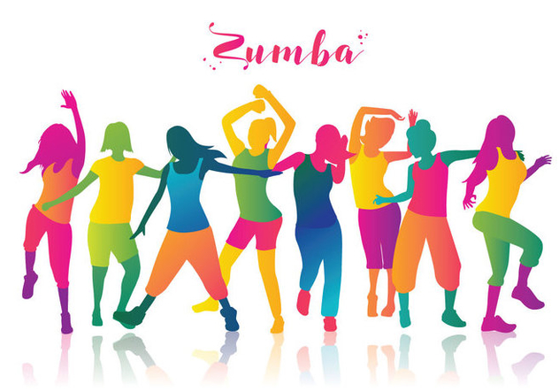 632x443 Free Zumba Dancers Vector Free Vector Download 397471 Cannypic