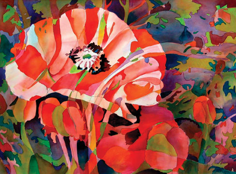 487x360 Watercolor Abstraction Puts Fun And Freedom In Your Art