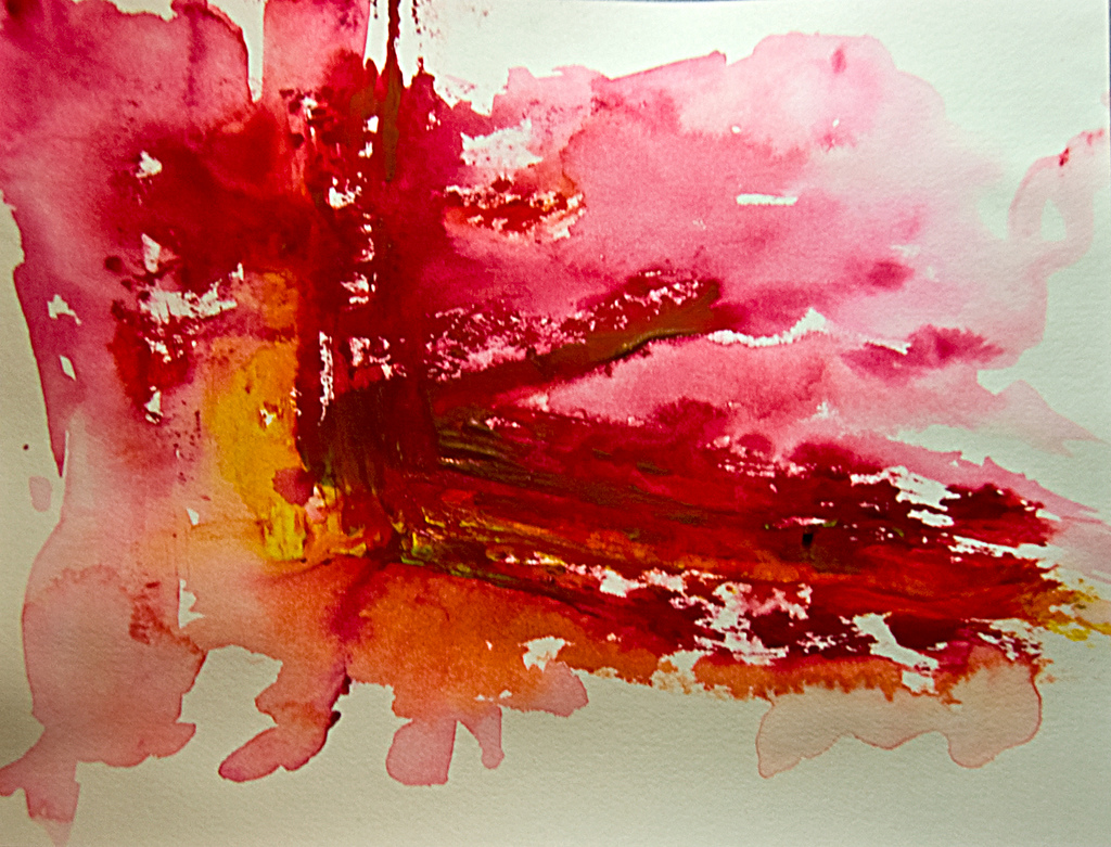 1024x781 Abstract Art Watercolor