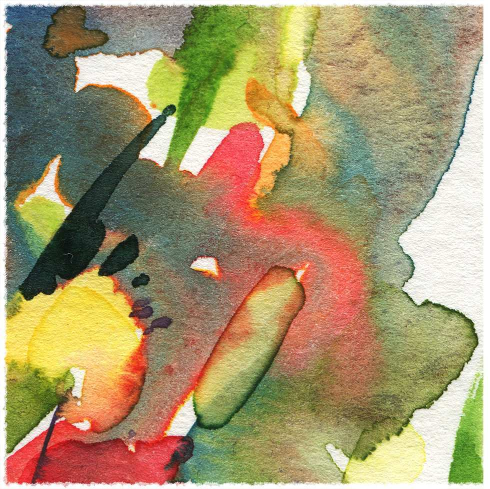 980x977 Abstract Watercolor Painting Awesome Sound And Motion Abstract