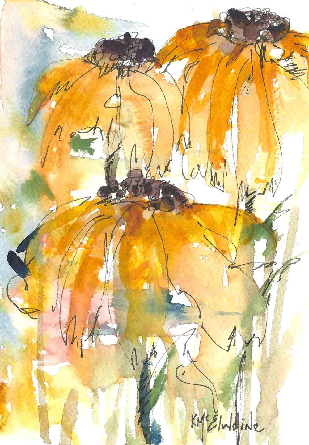1000x1440 Abstract Flower Paintings Watercolor Painting Abstract