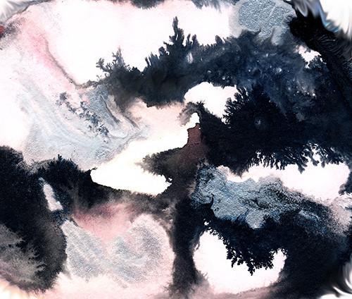 500x424 Rigel By Jules Tillman. Fine Art Print. Abstract Modern Abstract