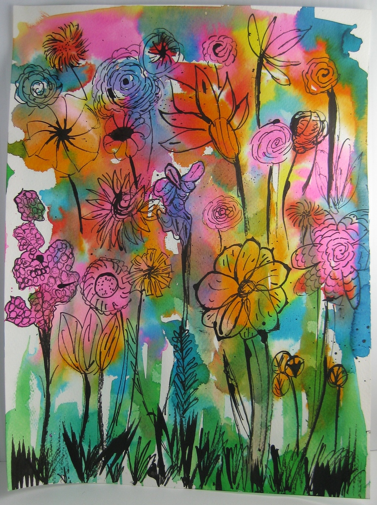 764x1024 Watercolor Flower Ideas Fresh Made By Nicole Abstract Watercolor