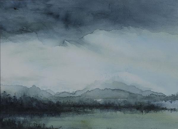 600x434 Abstract Watercolor Landscape Paintings Amppx19 Advancedmassagebysara