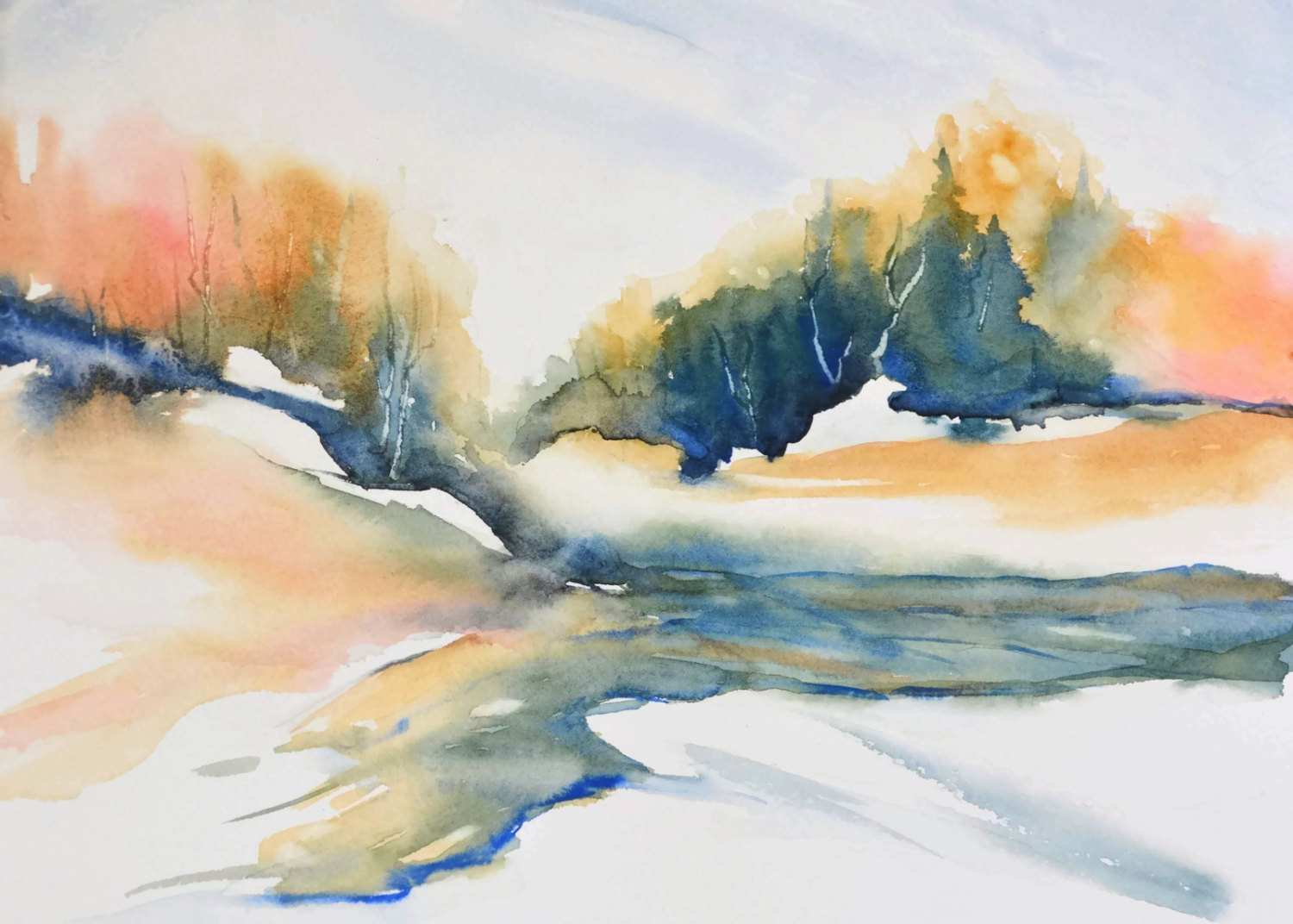 1500x1072 Etsy Paintings On Canvas Luxury Wall Art Landscape Watercolor