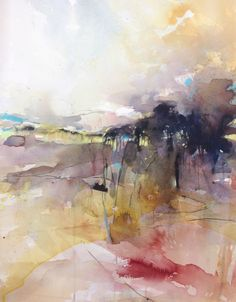Abstract Watercolor Landscape At Getdrawings Com Free For Personal