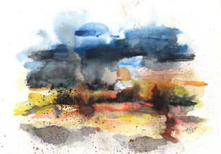 322x225 Pictures Watercolor Abstract Landscapes,